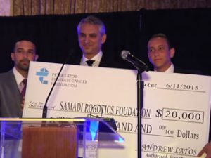 Samadi Robotics Foundation Receives Generous Donation to Help Fund and Educate for Prostate Cancer Prevention